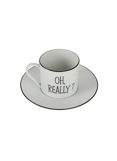 Porland Be Happy Tabaklı Çay Fincanı 180 Cc Renkli